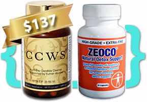 anticandida zeco ccws candida cleanser pack