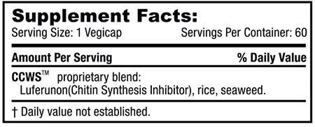 ccws cell wall suppressor supplement ingredients
