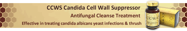 candida cell wall suppresor for fungal yeast infection